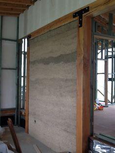 First internal hemp wall