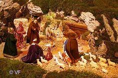 Crèche de Noël à Reillane en Provence