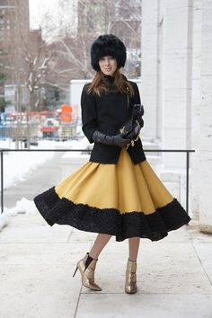 New York Fashion Week street chic (Vogue.com UK)