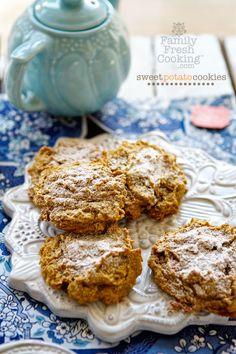 Sweet Potato Cookies | Gluten Free Recipe on FamilyFreshCooking.com
