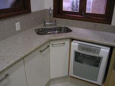 Kitchen Organization, Sink, Kitchen Cabinets, Home Decor, Kitchen Ideas, Decor Ideas, Corner Kitchen Sinks, Kitchen Small, Corner Sink