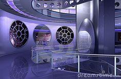One Spaceship interior.