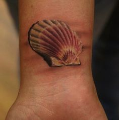 3D seashell tattoos | ... seashells while at the beach ? By Tattoo Artist : Ivana Belakova