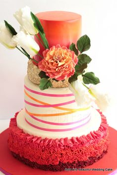BOLD AND BEAUTIFUL - by Rumana Jaseel @ CakesDecor.com - cake decorating website