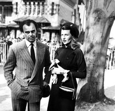 Rita  Hayworth and Aly Khan, (Prince and Princess Aly Khan)