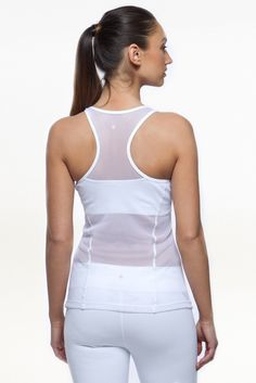 6d60c635b0 The Romance Diva Racerback is a designer yoga tank where form meets  function. This is
