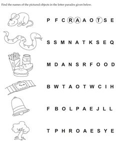 Find the names of the pictured objects in the letter parades given below English Grammar For Kids, Teaching English Grammar, Teaching Vocabulary, English Lessons For Kids, English Writing Skills, English Worksheets For Kindergarten, Printable Preschool Worksheets, English Worksheets For Kids, English Activities