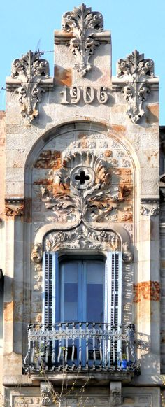 Cases Jofre. Architect: Bonaventura Bassegoda i Amigó. Barcelona - Pg. de Gràcia  (por Arnim Schulz em Flickr)