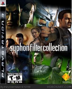 Syphon Filter Art Collection