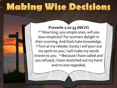 Image result for Proverbs 1:22