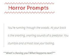 Creative Writing Prompts - ThinkWritten