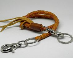 by SleepingDogsLeather Leather Lanyard, Lanyards, Hand Stitching, New Product, Wax, Wallet, Free, Color, Etsy