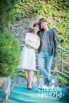 Cinderella and the Four Knights: Jung Il Woo & Park So Dam Cinderella Play, Cinderella And Four Knights, Jung Il Woo, Kdrama, Korean Couple, Korean Girl, Live Action, Knight Outfit, Park So Dam