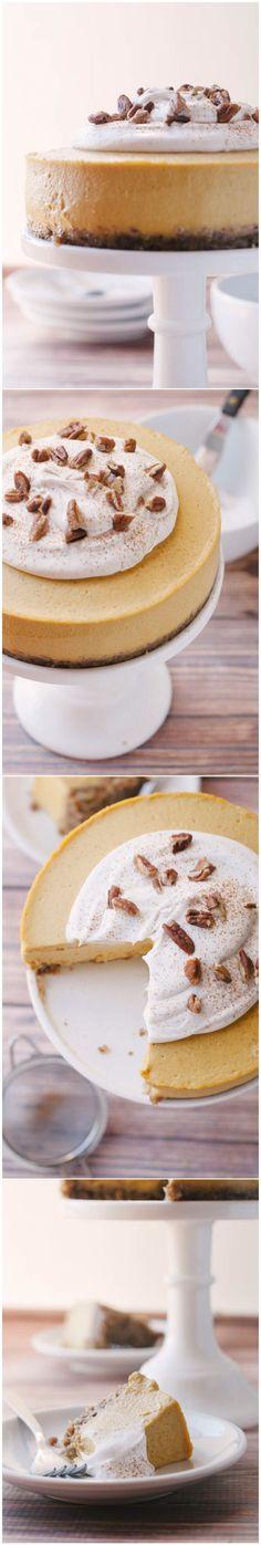 Raw Pumpkin Cheesecake (high Raw, Vegan)