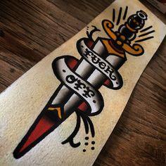 Fuck Off-dagger by Dennis Seide