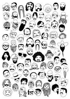 Championship Beards by Tilly