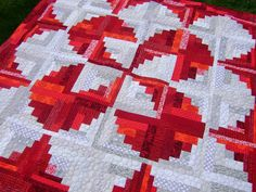 Quilting is more fun than Housework...: Scrap-A-Palooza! Quilt #16 Part Three