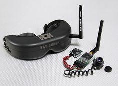 Fat Shark PredatorV2 RTF FPV Headset System w/Camera and 5.8G TX