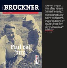 """Fiul cel bun de Pascal Bruckner - un adevărat """"roman al originilor"""", în care Bruckner relatează aventura sa personală şi intelectuală, oferindu-ne totodată cheia întregii sale opere. Roman, Connection, Fiction, Student, Movies, Movie Posters, Author, Films, Film Poster"""