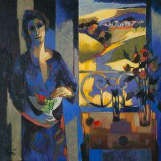 Intérieur , Painting, Pierre Pivet