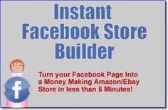 Facebook Store Builder  Build a Mini Facebook Store in 2 Easy Steps http://startinbiz.info/facebook-store-builder