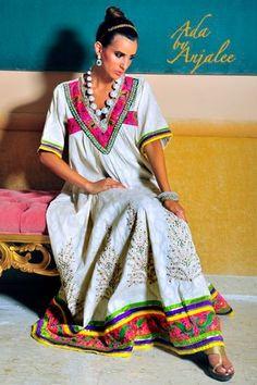 Ada By Anjalee A Shaah, Abaya, bisht, kaftan, caftan, jalabiya, Muslim Dress, glamourous middle eastern attire, takchita
