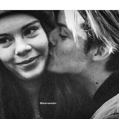 best couple, black and white, and chris image Cute Couples Photos, Couple Photos, Football Relationship, Skam Tumblr, Skam Wallpaper, Chris And Eva, Noora And William, Noora Skam, Battle Cry