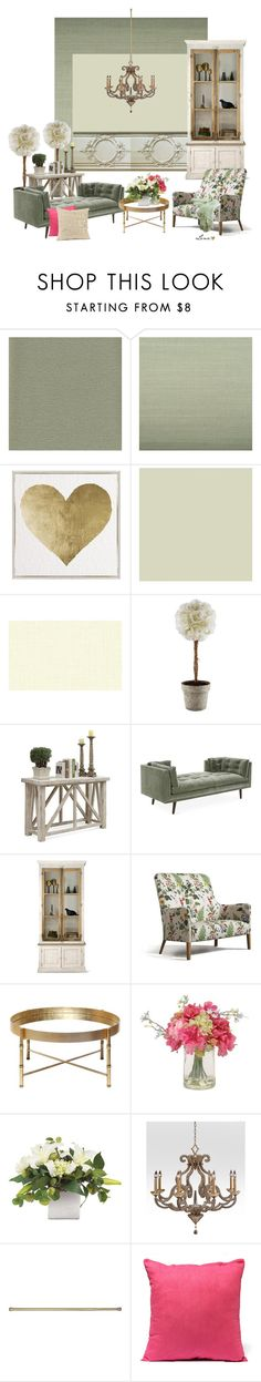 """""""Interior"""" by lenadecor ❤ liked on Polyvore featuring interior, interiors, interior design, home, home decor, interior decorating, Ballard Designs, Oliver Gal Artist Co., Riverside Furniture and Worlds Away"""