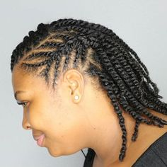35 Flat Twist Hairstyles Flat twists are great for natural and transitioning hair. Learn how to create flat twists and check out 35 gorgeous flat twists styles to try on your own. Flat Twist Hairstyles, Sweet Hairstyles, Flat Twist Updo, Braided Hairstyles, Protective Hairstyles, Black Hairstyles, Wedding Hairstyles, Two Strand Twist Updo, Flat Twist Styles
