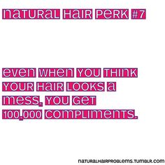 Natural Hair Problems- when I think my hair looks a mess, I get the most compliments Natural Hair Inspiration, Natural Hair Tips, Natural Hair Styles, Natural Beauty, Natural Girls, Going Natural, Mixed Girl Problems, Black Girl Problems, Natural Hair Problems