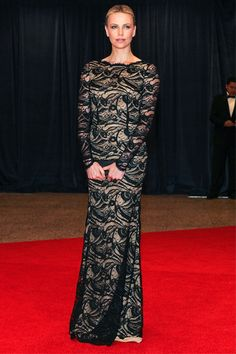 Charlize Theron wears Emilio Pucci.. I saw her in this and she was stunning! Gorgeous gown...