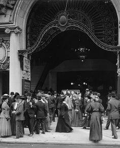 U.S. Entrance to Keith's Theatre, Philadelphia c. 1900.