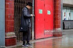 9e77206c7c1e London Fashion Week Men s FW17 Street Style Y3 Bag