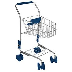 Toysmith Kids' Miniature Shopping Cart, 2015 Amazon Top Rated Grocery Shopping #Toy