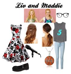 """""""Liv and Maddie inspired outfits"""" by elowilmot on Polyvore"""
