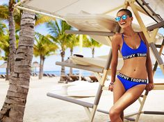 Reserved Swimsuit Summer 2016 #blue#sporty#print#trophy