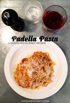 Padella Pasta, London   Cake + Whisky