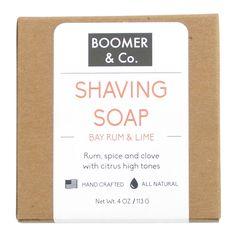 Bay Rum & Lime Shaving Soap Bar