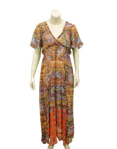 e9fb5dc29478 4129 New Free People Off The Shoulder Smocked Mustard Long Maxi Dress Small  S 6
