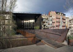 Teatre La Lira View map by Puigcorbé Arquitectes, RCR Arquitectes #architecture