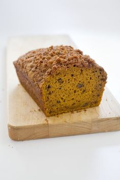 Pumpkin Bread, from America's Test Kitchen's New Family Cookbook