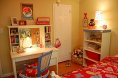 Olivias Whimsical Bedroom . . ., My Olivia is 10; our inspiration came from the lamp shades and the duvet (we also saw a similar room in a m...