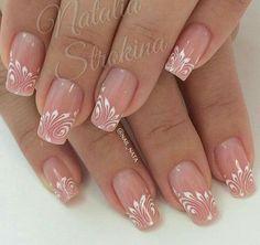Gel nails Source by jaunaslaetitia Fabulous Nails, Gorgeous Nails, Pretty Nails, Beautiful Nail Designs, Beautiful Nail Art, Hot Nails, Pink Nails, Nagellack Design, Manicure E Pedicure