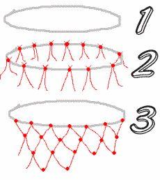 basketbalnet zelf knopen