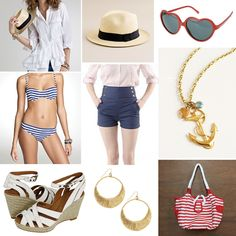 What a super cute honeymoon outfit.  Reminds me of someone though...@Eva Tiner Laine