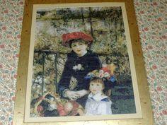 Dos hermanas (en la terraza) *Pierre-Auguste Renoir Hecho en 2013