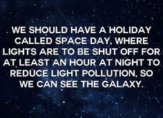 We should have a holiday...