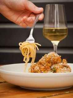 Taking classic spaghetti carbonara over the top, this Oyster Carbonara is paired with crispy fired oysters for unexpectedly delicious results.