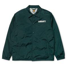 Carhartt WIP College Coach Jacket http://shop.carhartt-wip.com:80/gb/men/jackets/I020176/college-coach-jacket