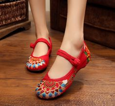 Low Heel Shoes Canvas Pumps 2015 New Arrival Traditional Chinese Style Roud Toe Shoes For Cheongsam-in Women's Pumps from Shoes on Aliexpress.com | Alibaba Group